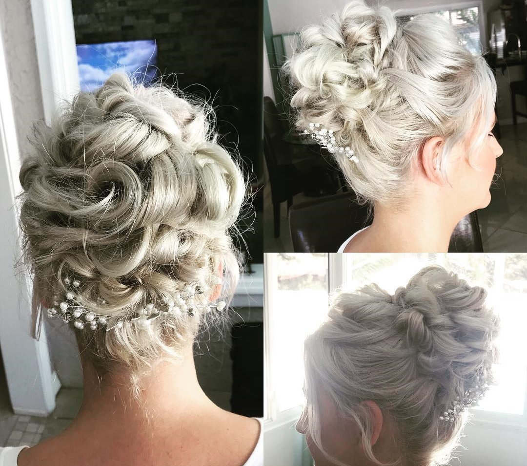 Stunning Updo and High Bun